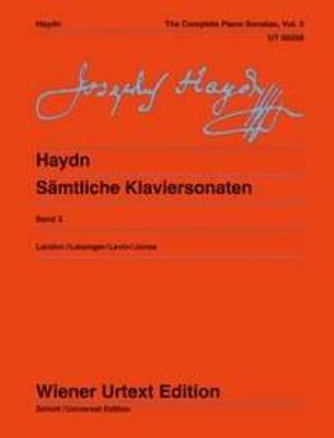 Wiener Urtext Edition / The Complete Piano Sonatas Vol. 3 / Franz Joseph Haydn / Christa Landon / Wiener Urtext