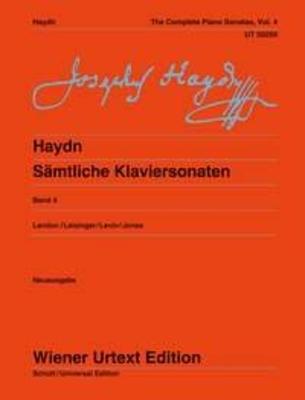 Wiener Urtext Edition / The Complete Piano Sonatas Vol. 4 / Franz Joseph Haydn / Christa Landon / Wiener Urtext