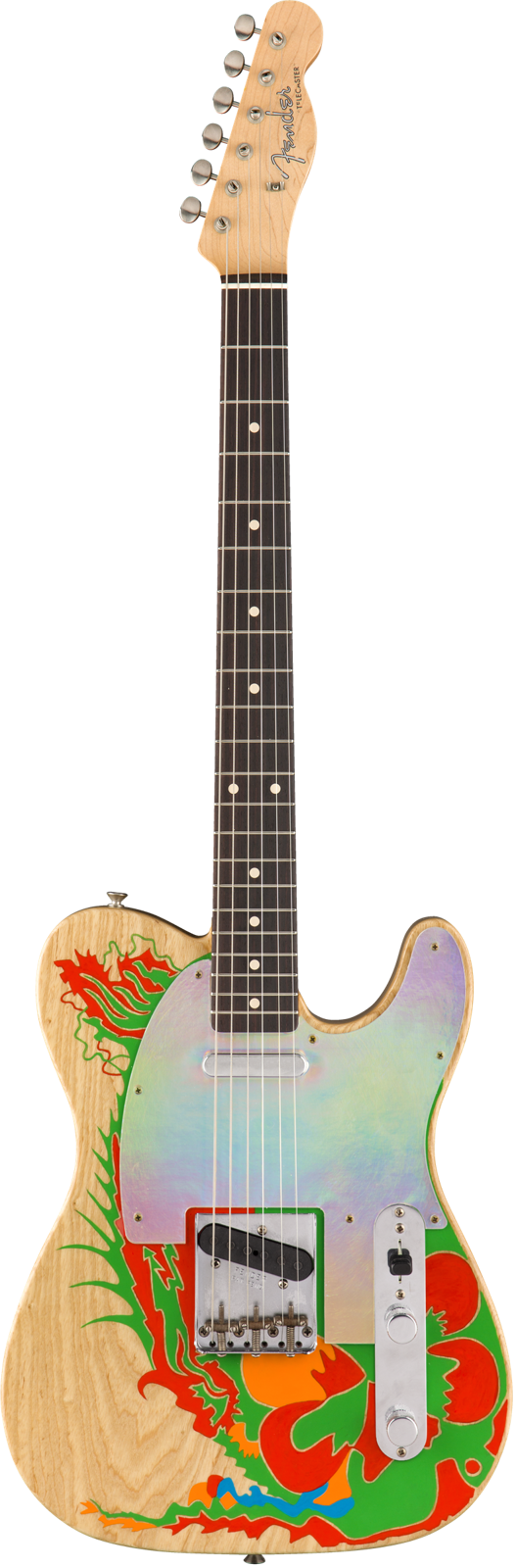 Fender Custom Shop Jimmy Page Telecaster Dragon & Mirrored Set – Masterbuilt by Paul Waller & Limited Edition Led Zeppelin Flipper : photo 3