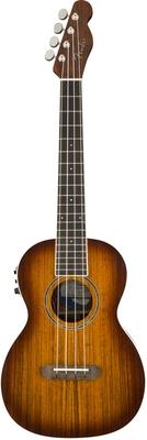 Fender Rincon Tenor Uke V2, Ovangkol Fingerboard, Sunburst
