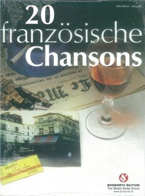 20 französische Chansons für Akkordeon / Songbook /  / Bosworth