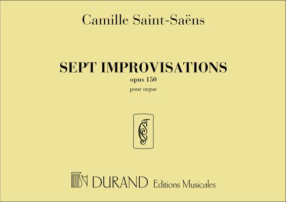 Edition Peters Green Series / 7 Improvisations Op.150 / Camille Saint-Sans / Peters