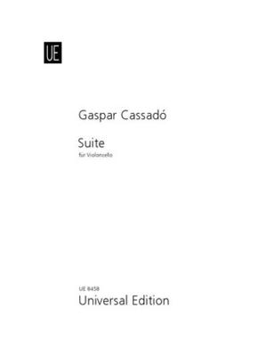 Suite pour violoncelle seul / Gaspar Cassad / Universal Edition