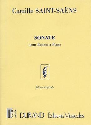Sonate Op.168 / Camille Saint-Sans / Durand