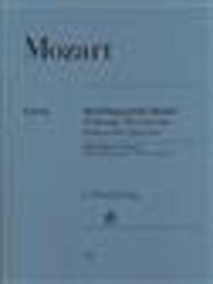 Quatuors cordes STRING QUARTETS VOLUME 1 Italian Quartets, Salzburg Divertimenti / Wolfgang Amadeus Mozart / Wolf-Dieter Seiffert / Henle