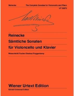Wiener Urtext Edition / Sämtliche Sonaten Editor: Christiane Wiesenfeldt Fingerings and Notes on Interpretation: Manuel Fischer-Dieskau (violoncello) Peter Roggenkamp (piano) / Carl Reinecke / Christiane Wiesenfeldt / Wiener Urtext