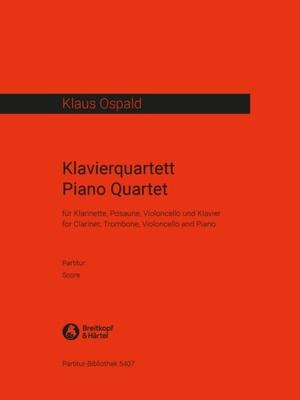 Piano Quartet set de partitions / Klaus Ospald / Breitkopf