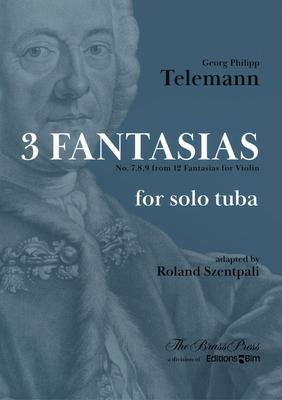 3 Fantasias – No. 7, 8, 9 From 12 Fantasias For Violin / Georg Philipp Telemann / BIM