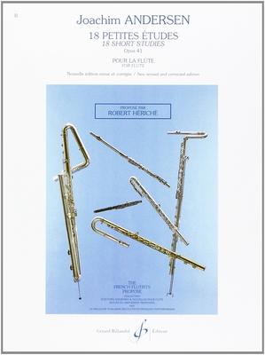 18 Petites Etudes Opus 41 / Joachim Andersen / Billaudot