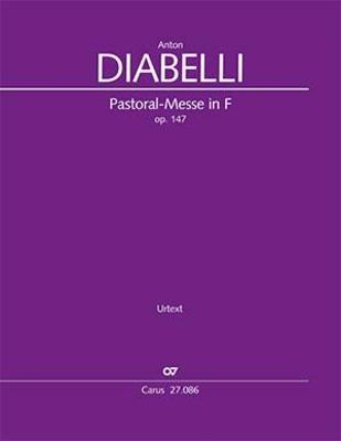 Pastoral Mass in F major Op. 147 réduction pour piano / Anton Diabelli / Carus