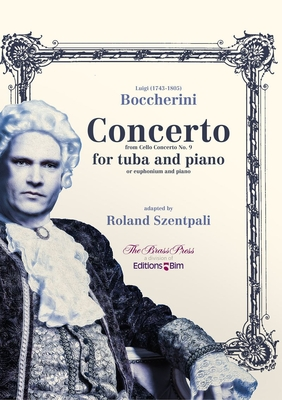 CONCERTO From Cello Concert No. 9 / Luigi Boccherini Roland Szentpali / BIM