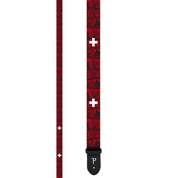 Perri's 2 SWISS EDITION Polyester Guitar Strap : photo 1