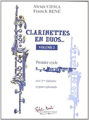 Clarinettes En Duos Vol.2 / Alexis Ciesla / Franck Rene / Robert Martin