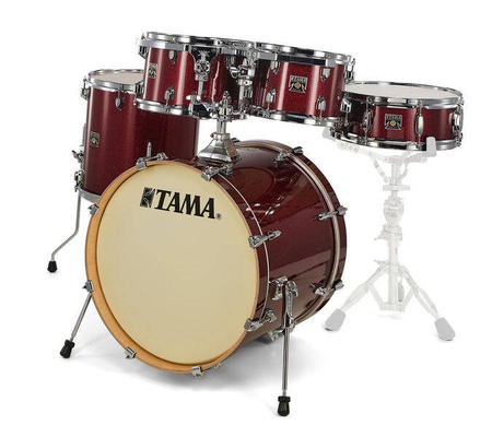 Tama CK50RS-DRP TAMA SUPERSTAR CLASSIC 20»/5PCS Dark Red Sparkle Shell Set Only