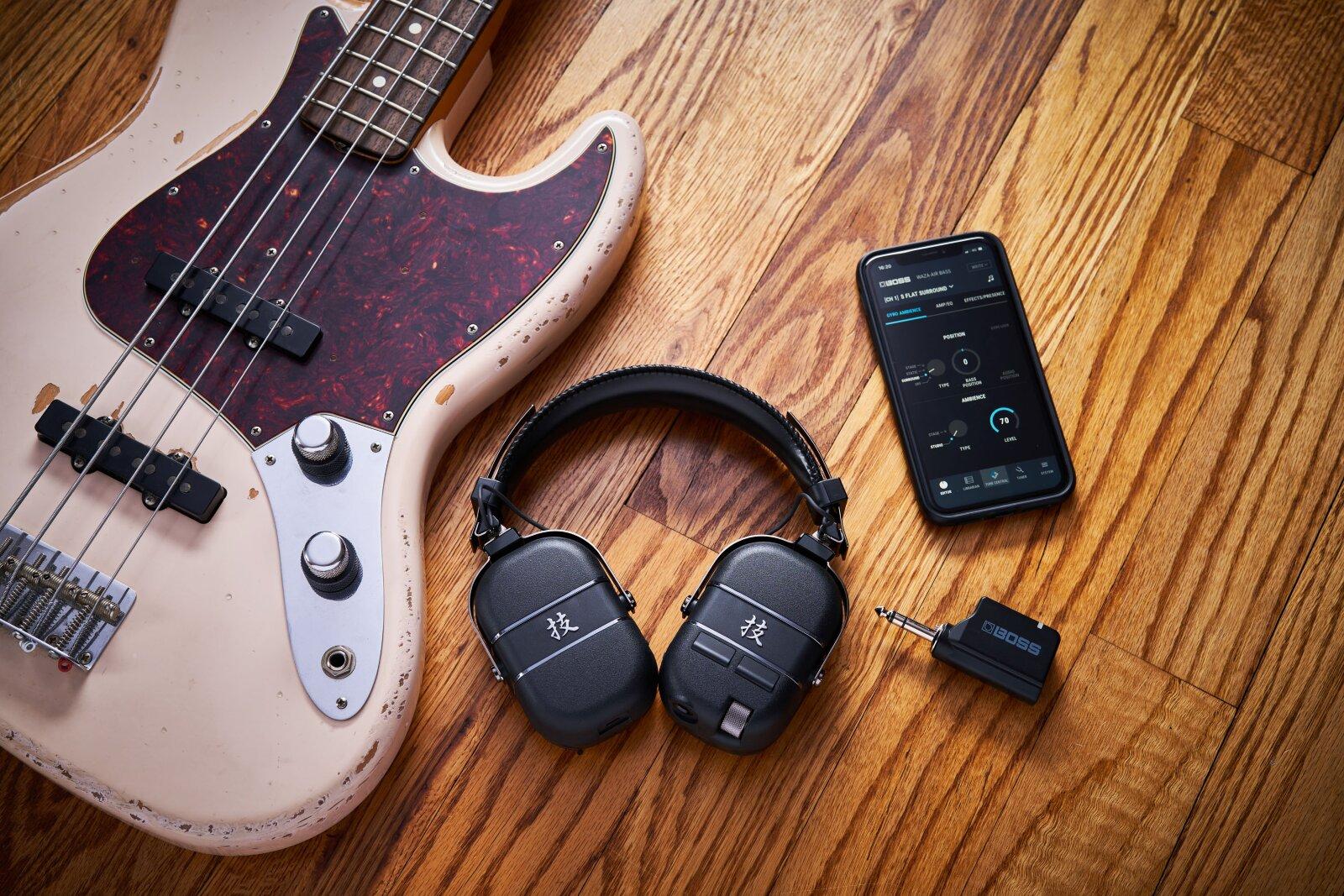 Boss Waza-air Bass Personal Amplification System : photo 3