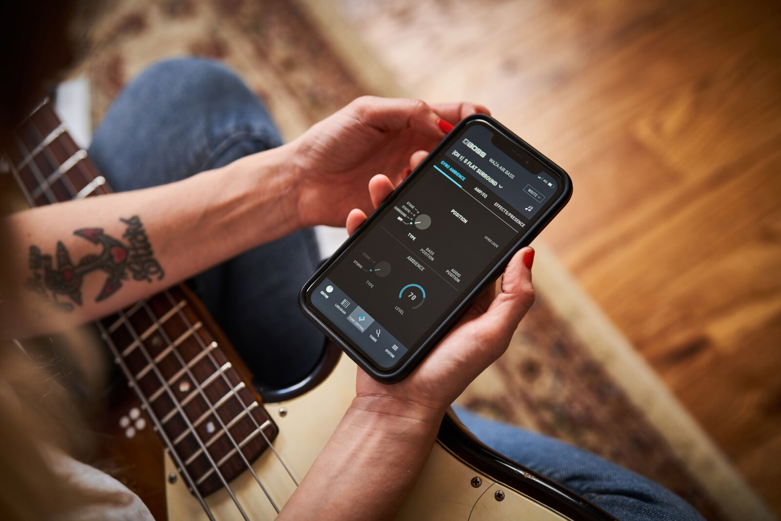 Boss Waza-air Bass Personal Amplification System : photo 5