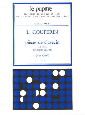 Le Pupitre – Heugel / Pieces de Clavecin Vol.2 / Louis Couperin / Heugel