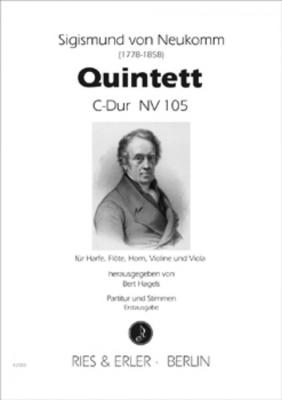 QUINTETT C-DUR NV 105 / Sigismund Von Neukomm / Bert Hagels / Ries und Erler