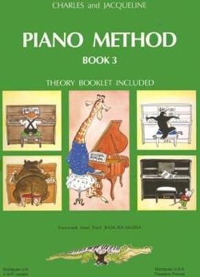 Piano Method Book Vol.3 / Pouillard / Henry Lemoine