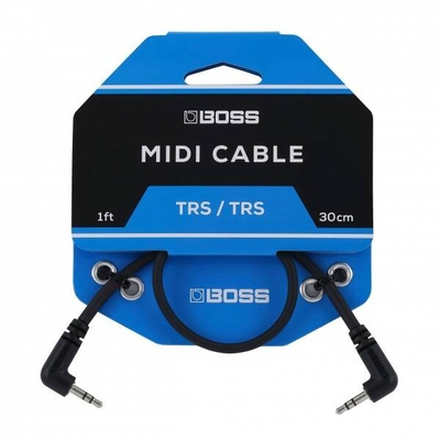 Boss BCC-1-3535 Series, TRS MIDI Cables, 1ft./30 cm