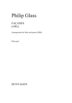 Facades / Philip Glass / Dunvagen