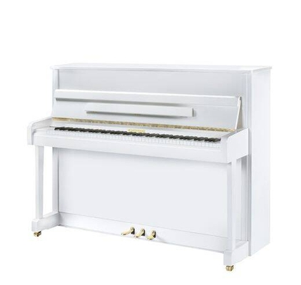 Hoffmann V-112 Blanc brillant +  Système silencieux C. Bechstein Vario