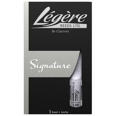 Légère Légère, Clarinette Sib »Signature Reed» 2.00, boîte de 1