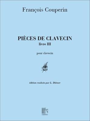 Pièces De Clavecin Pour Piano Livre III Ordres 13 à 19 – Edition Réalisée Par Louis Diémer / François Couperin / Durand