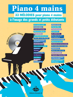 33 Melodies a L'Usage Des Petits Et Grands Debutants /  / Bourgès