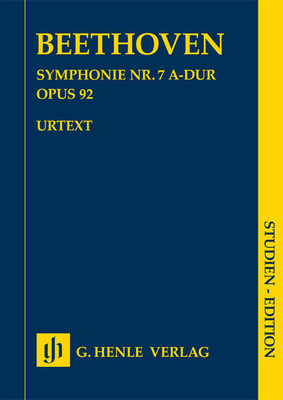 Symphony No. 7 A major Op. 92 / Ludwig van Beethoven / Henle