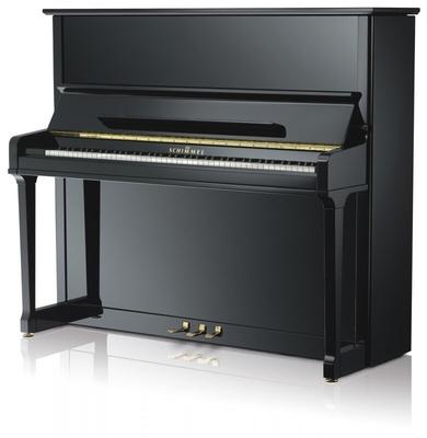 Schimmel K132 Tradition Konzert noir poli brillant + Système silencieux TwinTone