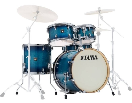 Tama CL50RS-BAB Superstar Classic 20/10/12/14/14 Blue Lacquer Burst Shell Set only