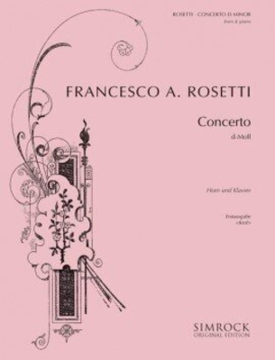 Horn Concerto in D Minor Murray C38 réduction piano / Francesco A. Rosetti / Bernhard Krol / Simrock