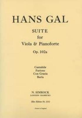 Suite in B Flat op. 102a / Hans Gal / Simrock