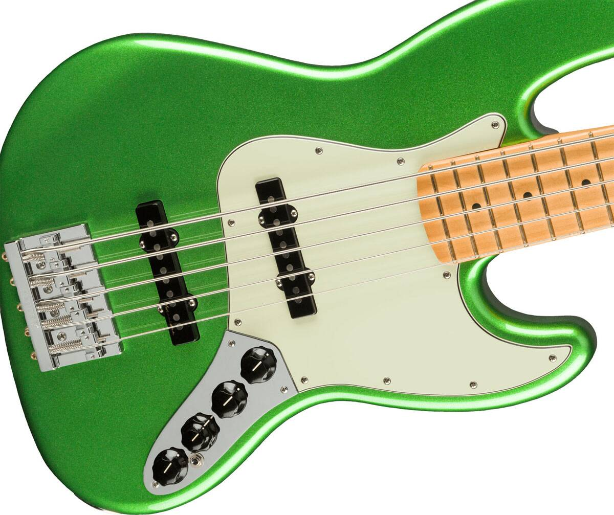 Fender Player Plus Jazz Bass V Maple Fingerboard Cosmic Jade : photo 3